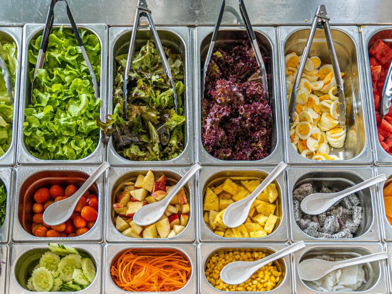 REWE PETZ Salatbar